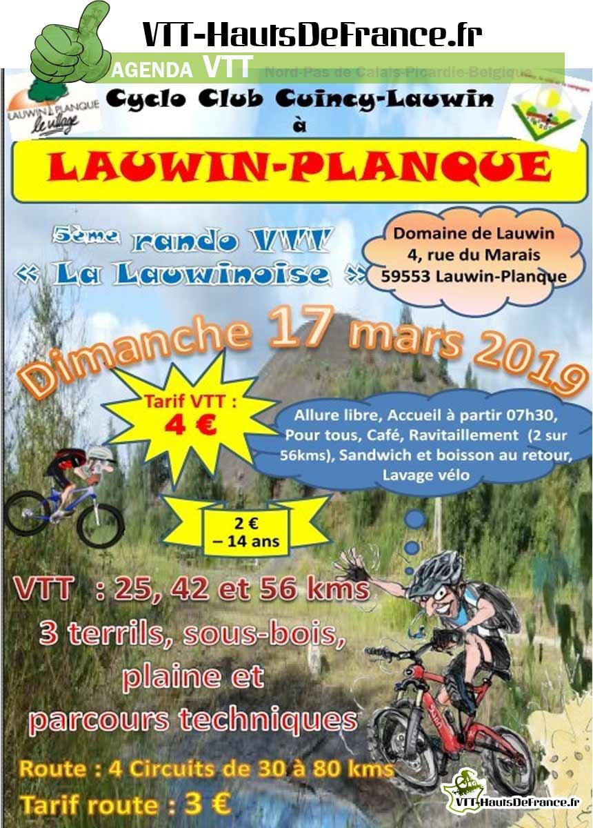 VTT & Cyclo Lauwin Planque