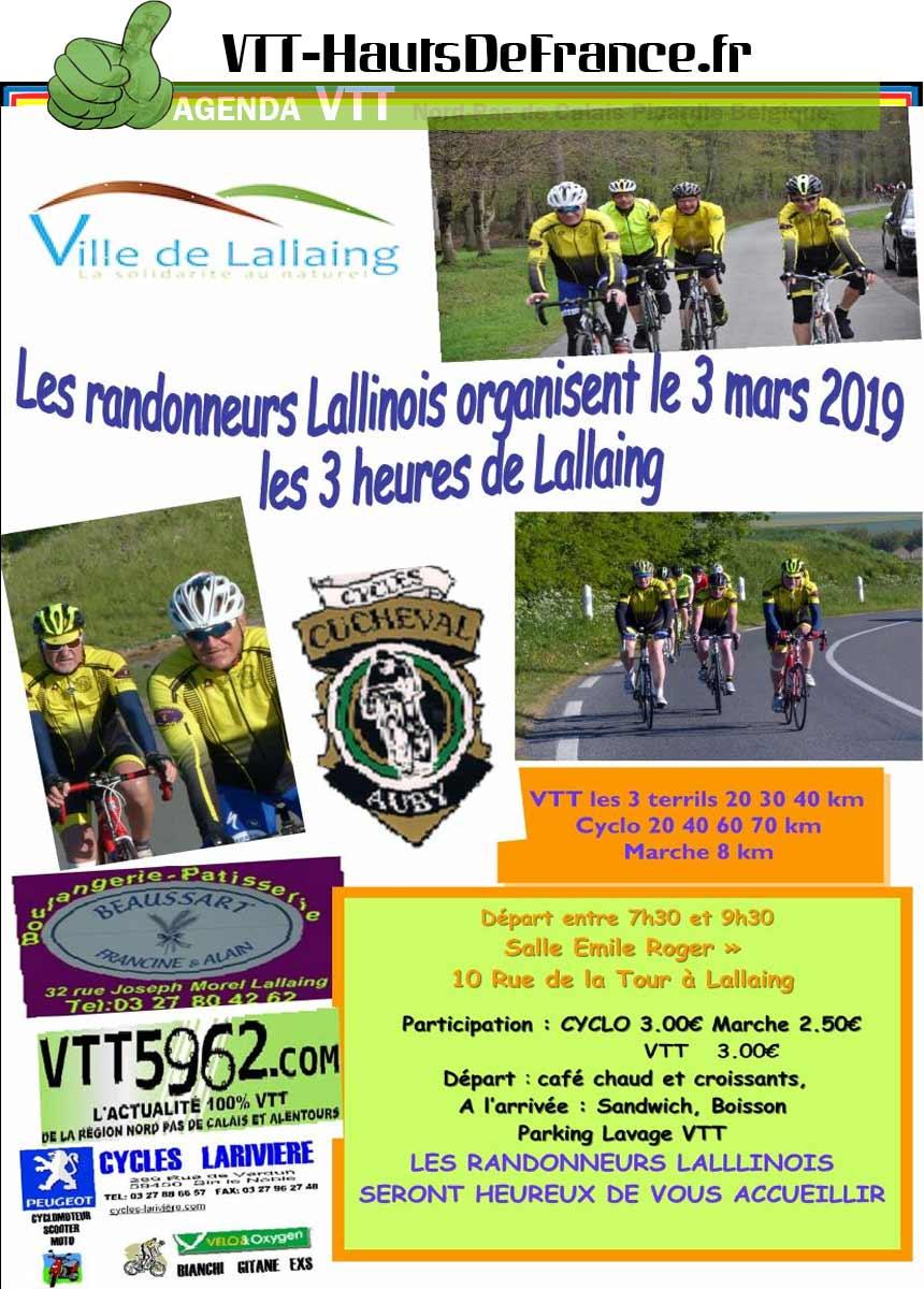 Les 3 heures de Lallaing  & les 3 Terrils VTT