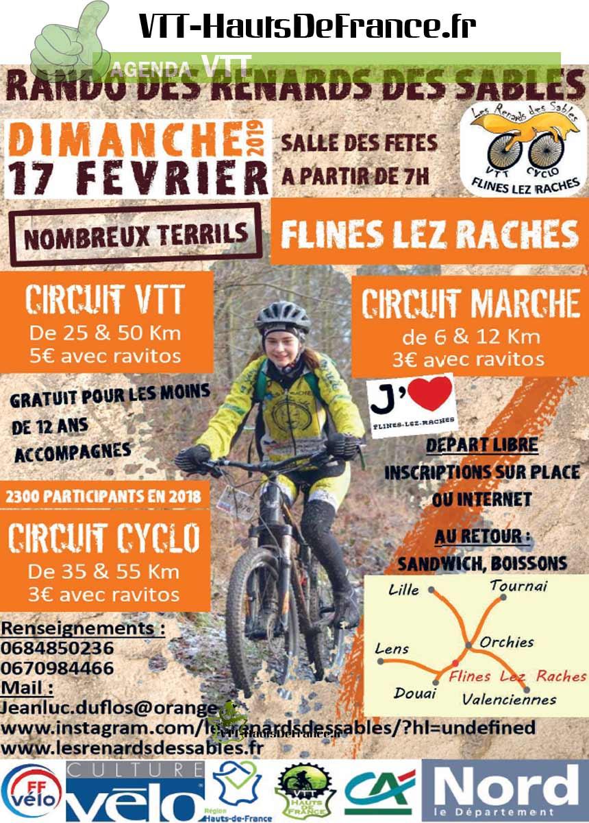 Cyclo/VTT Flines les raches